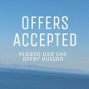 Offers Accepted! Check out my sales- open
